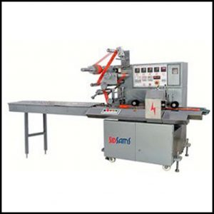Food packaging,horizontal flow wrap machine,Automatic horizontal flow pack machine ,horizontal flow wrapper is used for packaging various kinds of product.